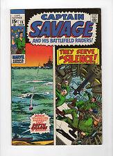 Capt. Savage and His Battlefield Raiders #19 (Mar 1970, Marvel) - Fine/Very Fine