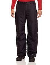 Columbia Men's Bugaboo II Ski Pant Black Size small Regular Waterproof