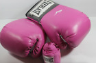 Pink Everlast Boxing Gloves and hand wrap
