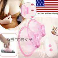 Electric Breast Enlargement Pump Vacuum Cup Suction Massager Enlarge Boobs Cups