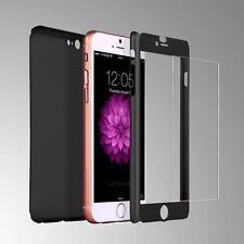 """Funda 360º iPhone 6S plus de 5,5"""" NEGRA + Cristal Templado"""