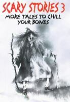 SCARY STORIES 3 by Alvin Schwartz a paperback book FREE USA SHIPPING Horror