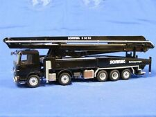 "Mercedes Benz Schwing S58SX Concrete Pumper - ""BLACK"" - 1/50 - Conrad #72138"