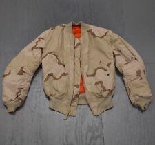Desert Camo US Made Reversable Orange Jacket 3 color Camo, flight and rescue