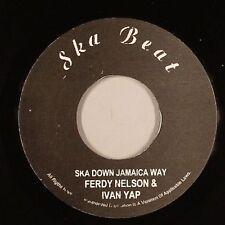 FERDY NELSON & IVAN YAP - SKA DOWN JAMAICA WAY (SKA BEAT) 1964