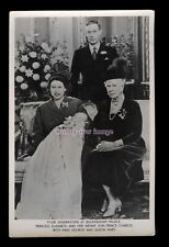 r3502 - Four Generations, Queen Mary, George, Elizabeth & Charles, Tuck's P'card
