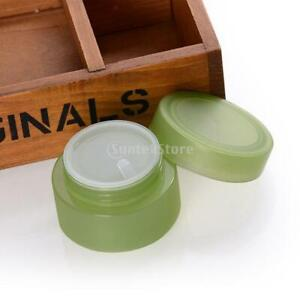 3 Packs 50ml Plastic Makeup Cosmetic Lotion Cream Sample Jar Containers for