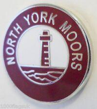 North York Moors Pin Badge (E1378)