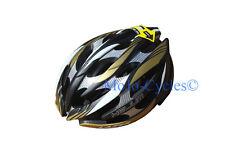 Lazer Helium Black Gold Silver Carbon Helmet Xxs-S 20.09-22.06 inches New