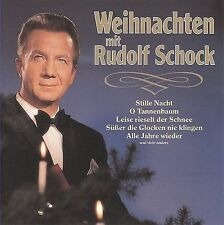 NEW Weihnachten mit Rudolf Schock (Christmas with Rudolf Schock) (Audio CD)