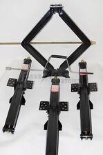 "4 pk 24"" 7500 lb * 9,000lb Tested rv Scissor Leveling Jack Trailer  4-24-75CR"