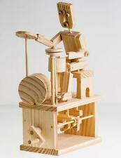 Timberkits Wooden Self Assembly Automaton Drummer Kit