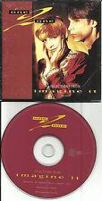 Artificial Joy Club ONE 2 ONE 1992 RARE 3 TRK SAMPLER PROMO CD Single USA