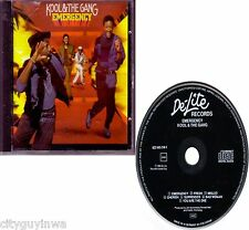 KOOL & THE GANG Emergency 1984 West Germany De-Lite Records 1st Press CD 80s