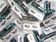 LOT ~ 10 PAIRS ARDELL False Eyelashes Fake Lashes Natural Glamour Duralash Flare