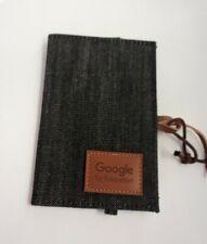 Origaudio Google For Education Denim Passport  Visa Card Holder Rare Promotional
