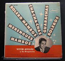Vitin Aviles Y Su Orquesta - S/T LP ALP 1218 Mono 1st Ansonia USA Vinyl Record
