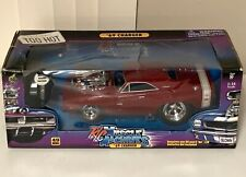 RC Muscle Machines 1969 Red Dodge Charger Car 1:16 Scale