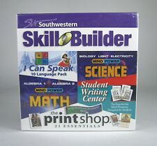 NEW Southwestern Skill Builder The Printshop NIB CD Math Science Student Writing