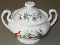 Vintage Minton Bone China Meadow B-1461 Tea Set - Sugar Bowl & Lid
