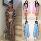 Women Beach Dress Cover Up Kaftan Chiffon Sarong Summer Wear Swim Bikini Summer
