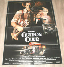 A1 Filmplakat  COTTON CLUB,RICHARD GERE, FRANCIS FORD COPPOLA