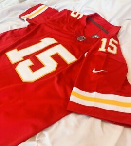 30% off Patrick Mahomes Kansas City Chiefs #15 Men M L XL 2XL Red Game Jersey