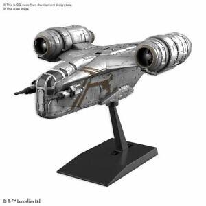 BANDAI Star Wars: The Mandalorian Razor Crest SILVER COATING VARIANT Model Kit