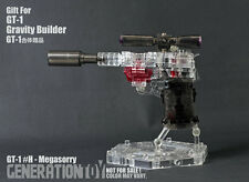 Transformers Generation Toy Gravity Builder GT-1H transparent Megatron IN STOCK
