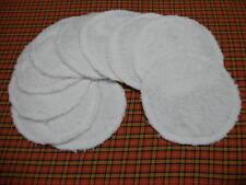 Lot de 10 lingettes démaquillantes lavables éponge NEUVES - oekotex standard 100
