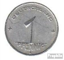 DDR Jägernr: 1501 1950 A sehr schön Aluminium 1950 1 Pfennig Ähre auf Zahnrad