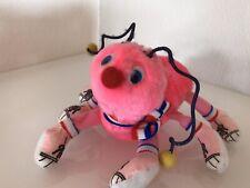 Plüschtier Stofftier Spielzeug Raupe Tausendfüssler Rosa
