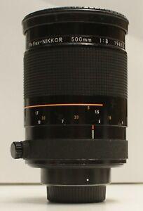 Nikon 500mm f/8 Reflex-NIKKOR Mirror Lens