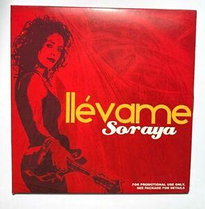 Soraya**- Llévame (CD, Single, Promo)