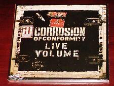 CORROSION OF CONFORMITY: Live volumen CD 2016 DISSONANCE prods. GB Digipak Nuevo