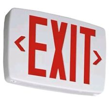 Lithonia Lighting Quantum Thermoplastic Led Emergency Exit Sign (Red) - 142AN5