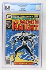 Marvel Spotlight #28 - Marvel 1976 CGC 8.0 - Solo Moon Knight - 30 Cent Variant!