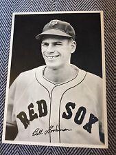 1940's BILL GOODMAN BOSTON RED SOX TEAM ISSUED VINTAGE BASEBALL PHOTO,Red SoxHOF