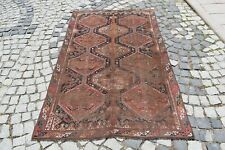Marvelous Antique Rug 1870s Awesome Caucasian Collector's Piece Shabby Chic Rug