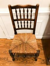 Antique 18th Century George Iii Ash Lancashire Chair - Shipping Available