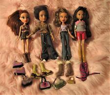 3 Bratz Dolls Lot1 Moxie Girl Accessories VGC