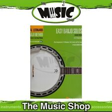 New Hal Leonard Banjo Method: Easy Banjo Solos Music Book - 2nd Edition