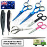 Hairdressing Haircutting Scissors, Straight Cut Throat Razor & Cuticle Scissor