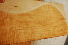 blistered curly hard maple tonewood guitar luthier set back and sides old