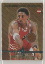 1997 Collector's Edge Game Used Ball Scottie Pippen #5 HOF