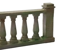 More details for td34-1 2 x  3d printed balustrades 2 o scale model railway scenics unpainted