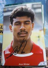 Signiertes Foto Aron Winter Ajax Amsterdam  NEU Inter Mailand Niederlande
