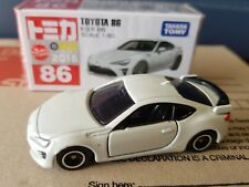 2015 -Tomica - #86 - Toyota 86 White - sealed and unopened box