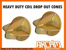 ARCHM4X4 HEAVY DUTY COIL DROP OUT CONES - SUITS PATROL GQ GU Y60 Y61