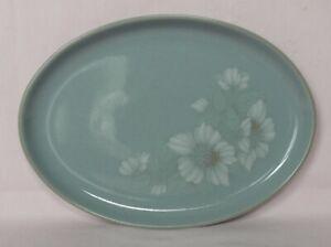 Denby, Blue Dawn, 1x large Oval Steak Plate 32.5cm x 23.5cm (12¾ x 9¼ inches)
